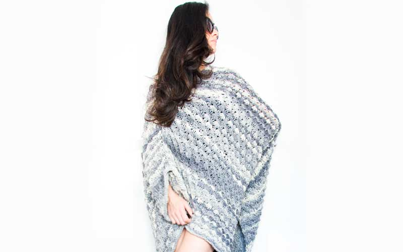 Anad Knit Cape
