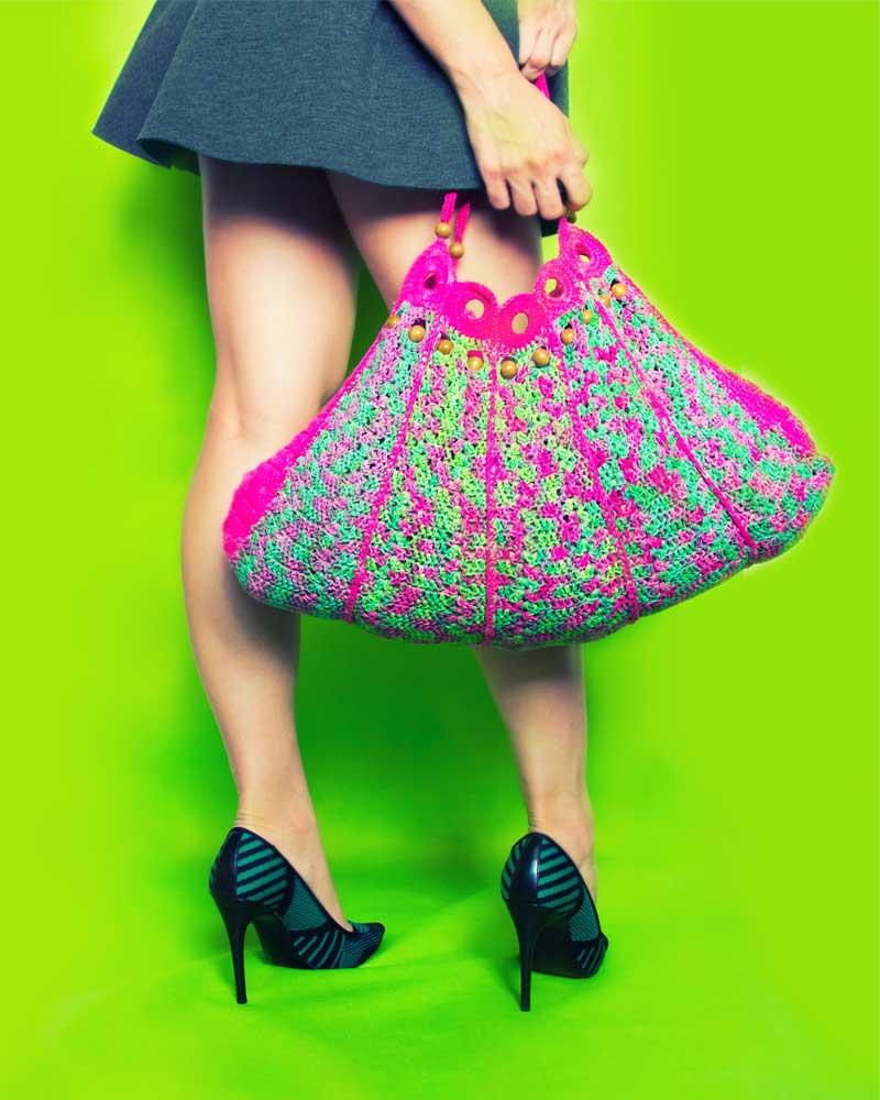 Handbag Miz 3/4 front view